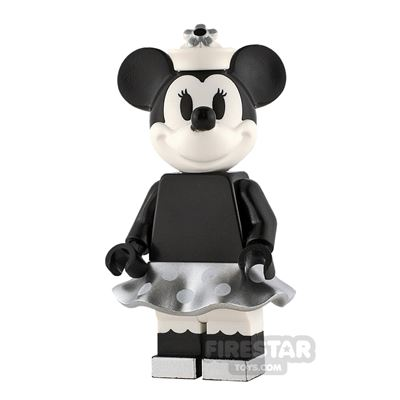 LEGO Ideas Minnie Mouse Grayscale