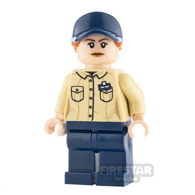 LEGO Jurassic World Figure Female Park Worker