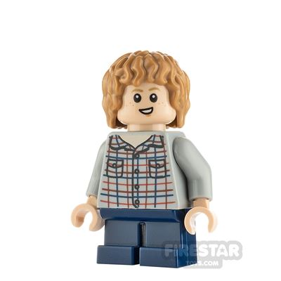 LEGO Jurassic World Figure Gray Mitchell