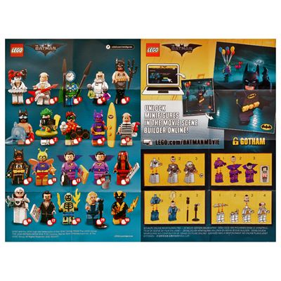 LEGO - Batman Movie 2 Collectable Leaflet