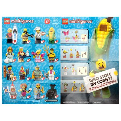 LEGO - Minifigures Series 17 Collectable Leaflet