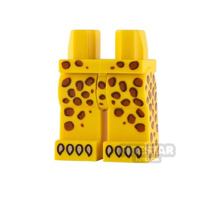 LEGO Minifigure Legs Leopard Spots and Claws