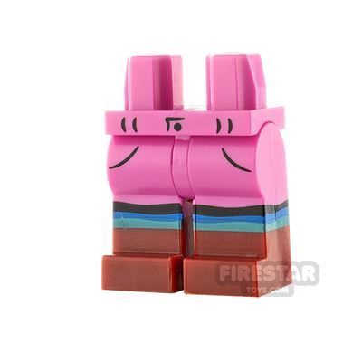 LEGO Minifigure Legs Jeans with Boots