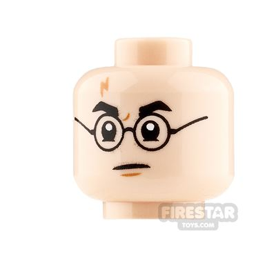 LEGO Minifigure Heads Harry Potter Smile and Angry
