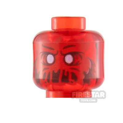 LEGO Minifigure Heads Slimed Mouth Ghost