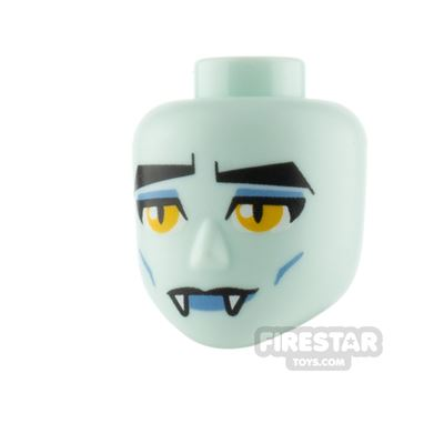 LEGO Movie Minifigure Heads Frown and Fangs