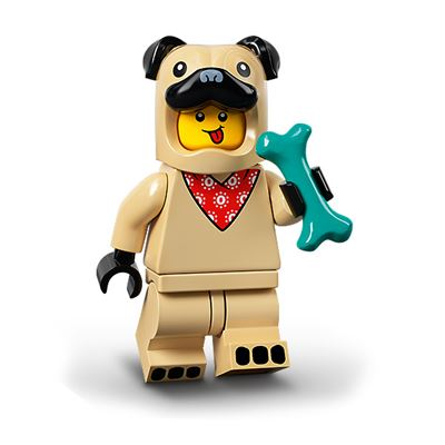 LEGO Minifigures 71029 Pug Costume Guy