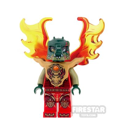 LEGO Legends of Chima Mini Figure - Cragger - Breastplate, Flame Wings