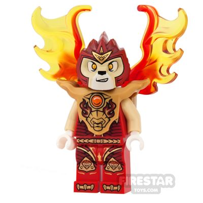 LEGO Legends of Chima Mini Figure - Laval - Breastplate, Flame Wings