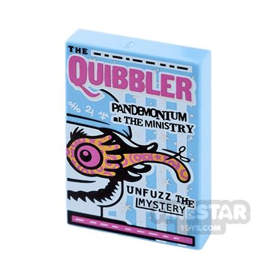 Printed Tile 2x3 - The Quibbler Newspaper