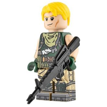 Custom Design Mini Figure - Fortnite Jonesy