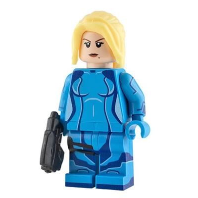 Custom Design Minifigure - Galactic Headhunter