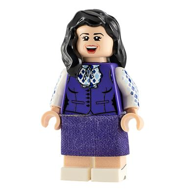 Custom Design Mini Figure - The Awesome Place Janet