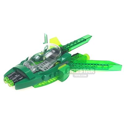 Custom Mini Set - Super Heroes - John Stewart Green Lantern's Spaceship
