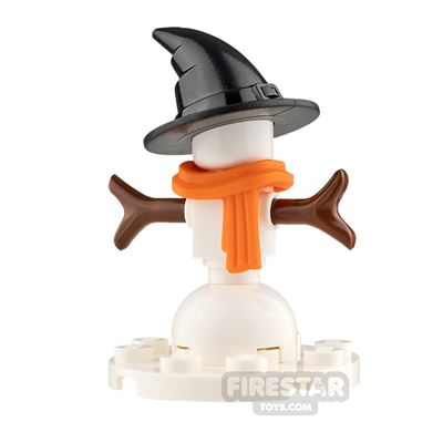 Custom Mini Set Snowman with Witches Hat