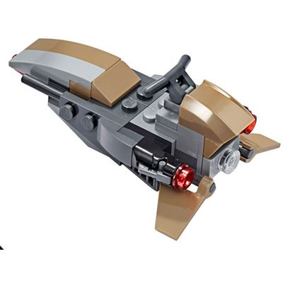 Custom Mini Set Star Wars Mandalorian Speeder Bike