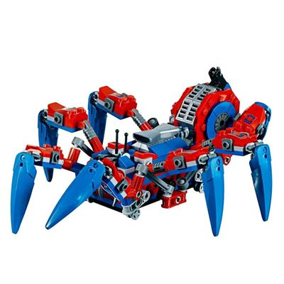 Custom Mini Set Superheroes Spider Crawler