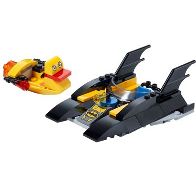 Custom Mini Set Superheroes Batboat & Duckboat