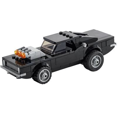 Custom Mini Set Superheroes Ghost Rider Supercharger Car