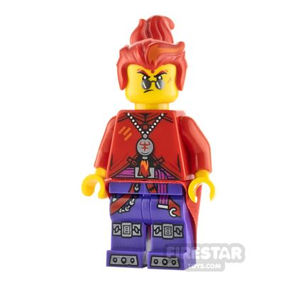 LEGO Monkie Kid Minifigure Red Son