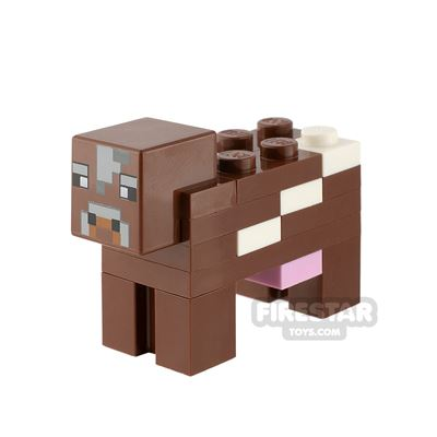 LEGO Minecraft Minifigure Cow