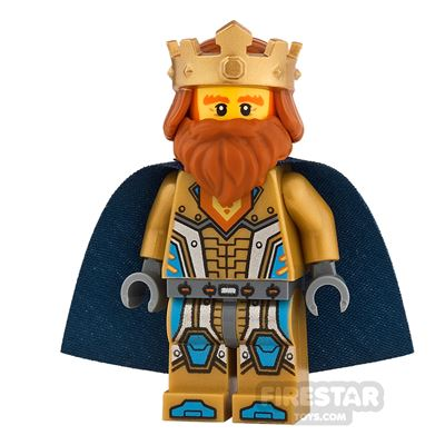 LEGO Nexo Knights Mini Figure - King Halbert