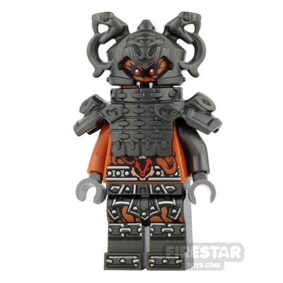 LEGO Ninjago Mini Figure - Commander Raggmunk