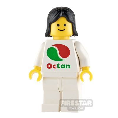 LEGO City Minifigure Octan