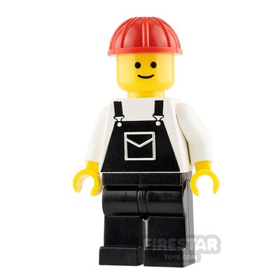 LEGO City Minifigure Overalls