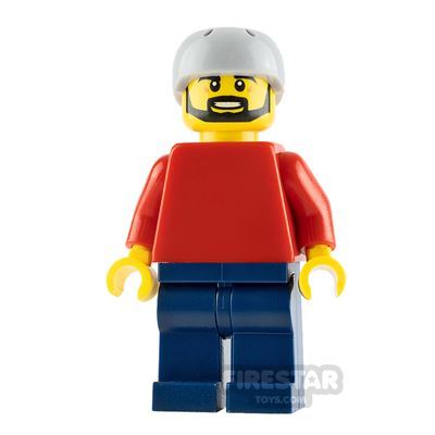 LEGO City Minifigure Man with Red Top
