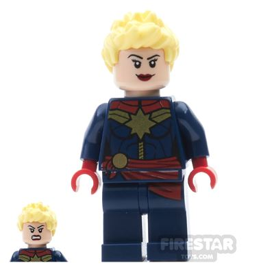 LEGO Super Heroes Mini Figure - Captain Marvel