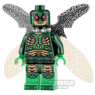 LEGO Super Heroes Mini Figure - Parademon - Collapsed Wings - Green