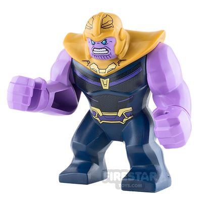 LEGO Super Heroes Minifigure Thanos Dark Blue Armour