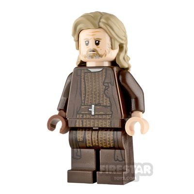 LEGO Star Wars Minifigure Luke Skywalker Dark Brown Robe