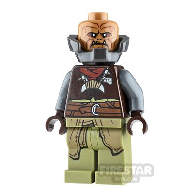 LEGO Star Wars Minifigure Klatooinian Raider with Armour