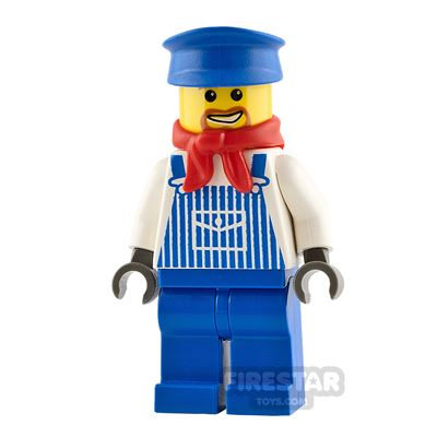 LEGO City Minifigure Engineer Max