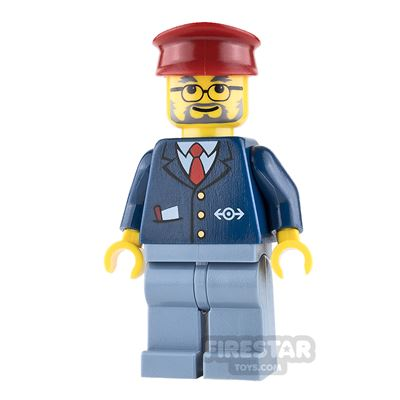 LEGO City Mini Figure - Train Conductor