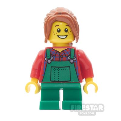 LEGO City Mini Figure - Light Keeper Girl
