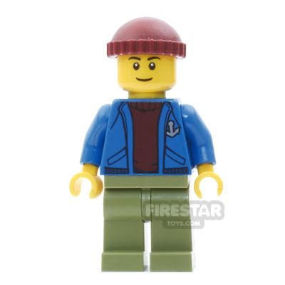 LEGO City Mini Figure - Light Keeper Boy