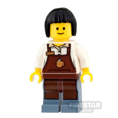 LEGO City Mini Figure - Barista