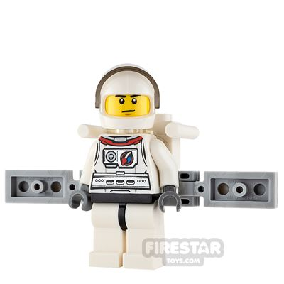 LEGO City Mini Figure - Astronaut - Male with Backpack