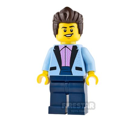 LEGO City Mini Figure - Rock Star
