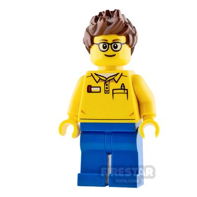 LEGO City Mini Figure - Coaster Operator - Male