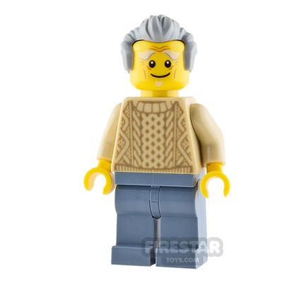 LEGO City Mini Figure - Child's Grandfather