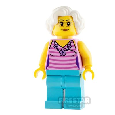 LEGO City Mini Figure - Child's Grandmother