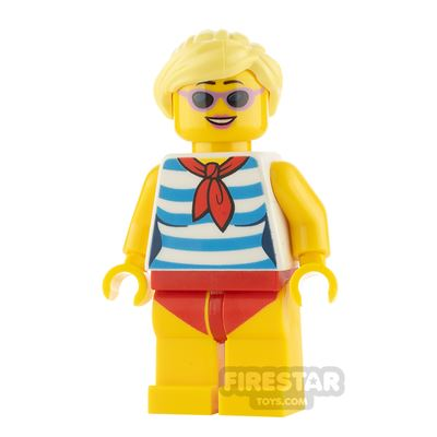 LEGO City Minifigure Swimsuit and Sunglasses