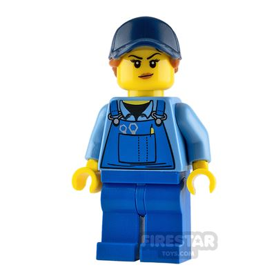 LEGO City Minifigure Mechanic