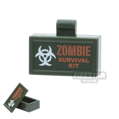 BrickForge - Ammo Case - Zombie Survival Kit - Army Green